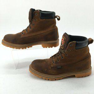 Irish Setter Mens 8.5D Hopkins Work Boots Aluminum